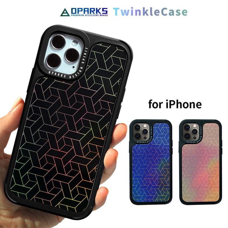 iPhone 12 アイフォン ケース スマホケース カバー mini Pro キューブパターン Dparks 対応 テレビで話題 宅配便送料無料 COVER お取り寄せ TWINKLE 背面カバー型