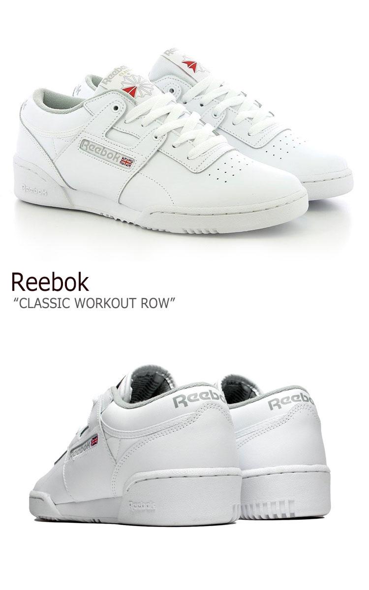 リーボック スニーカー REEBOK メンズ レディース CLASSIC WORKOUT ROW クラシック ワークアウト ロウ WHITE ホワイト CN0636 シューズthQdrxsC