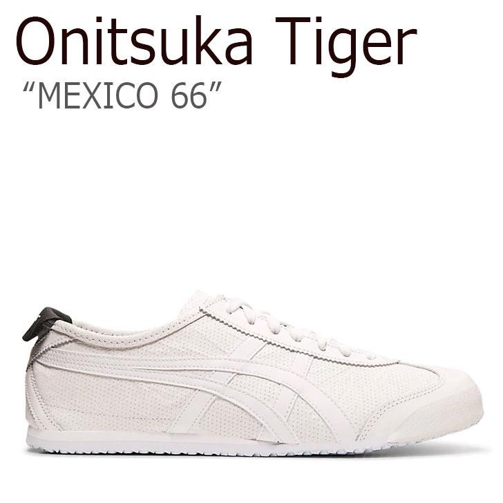 オニツカタイガースニーカー オニツカ タイガー onitsuka tiger オニツカメキシコ66 mexico66 オニツカメキシコ66シリーズ メキシコ66 Onitsukaタイガー 海外直輸入USED品 オニツカタイガー スニーカー Onitsuka 1183A443-100 MEXICO 中古 Tiger レディース 毎週更新 メキシコ WHITE 未使用品 66 メンズ 新品 ホワイト シューズ