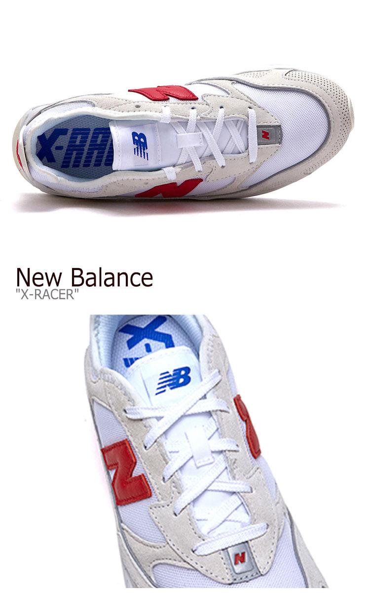 Newbalanceスニーカー ニューバランススニーカー New Balance White ニューバランスホワイト X Racer Newbalance 海外直輸入used品 ニューバランス スニーカー New Balance X Racer 休み 未使用品 Nbpd9b751w ホワイト X レーサー 中古 White シューズ メンズ Flnb9f3u44