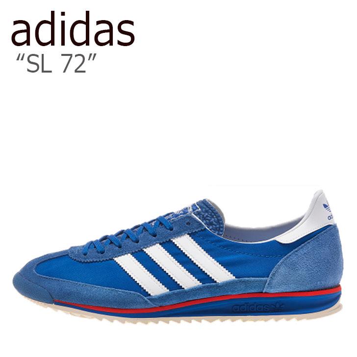 アディダス adidas sl 72 adidasシューズ アディダスシューズ メンズスニーカー レディーススニーカー ブルースニーカー 海外直輸入USED品 スニーカー メンズ エスエル BLUE EG6849 レディース ブルー WHITE ホワイト 未使用品 迅速な対応で商品をお届け致します 国産品 中古 シューズ SL