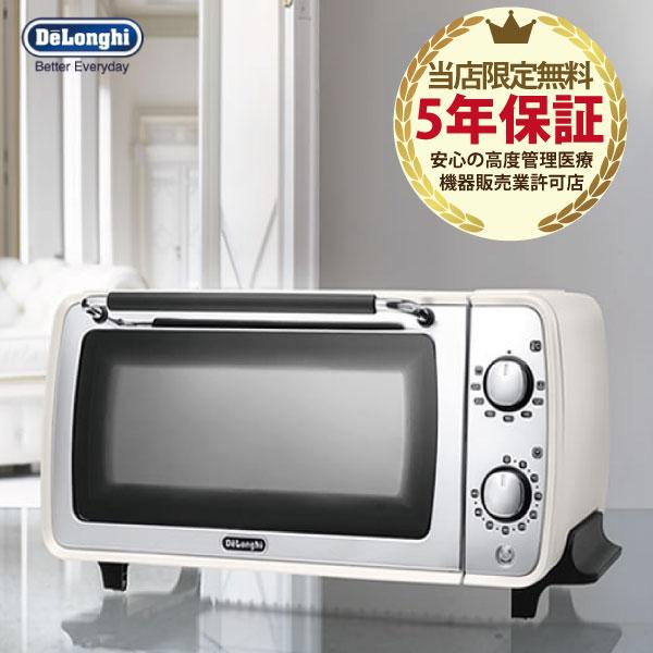 【5年保証付】デロンギ オーブントースター DeLonghi ディスティンタコレクション EOI407J-W ホワイト トースター オーブン