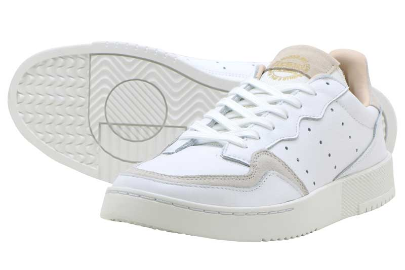 adidas Originals SUPERCOURTアディダス スーパーコートRUNNING WHITE/RUNNING WHITE/CRYSTAL WHITE【メンズ レディース スニーカー】
