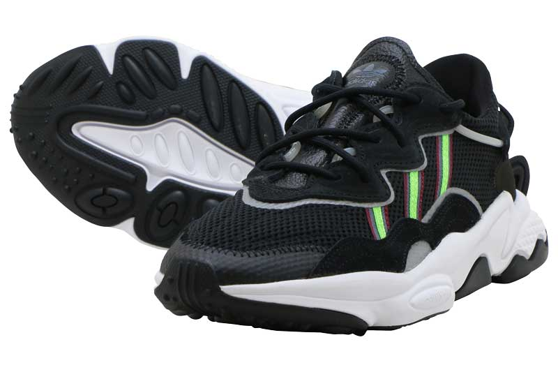 【FINAL SALE】【ファイナルセール】adidas Originals OZWEEGOアディダス オズウィーゴCORE BLACK/SOLOR GREEN/ONIX