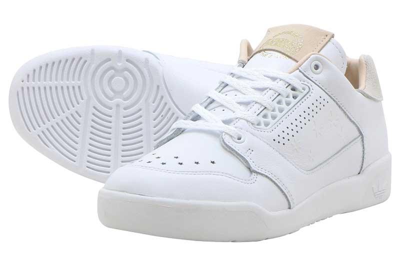 adidas Originals SLAMCOURT Wアディダス シグネチャー 87 WRUNNING WHITE/RUNNING WHITE/LINEN【レディース スニーカー】