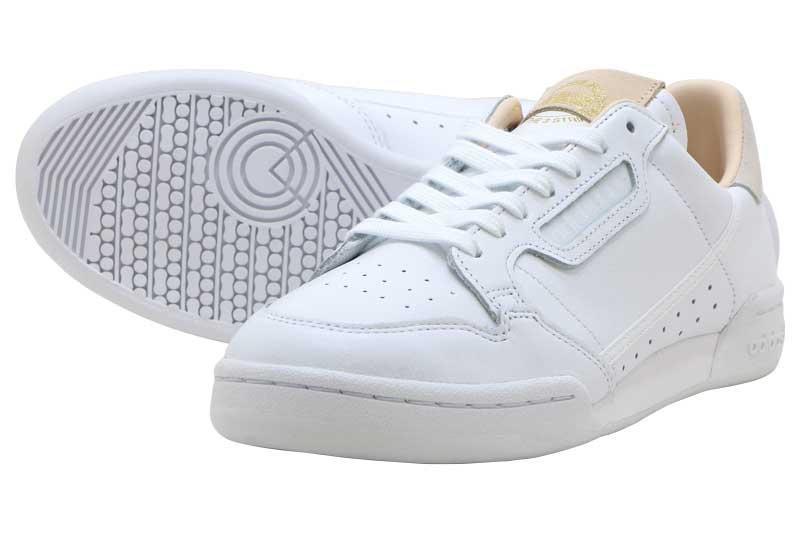 【FINAL SALE】【ファイナルセール】adidas Originals CONTINENTAL 80アディダス コンチネンタル 80RUNNING WHITE/RUNNING WHITE/CRYSTAL WHITE【メンズ レディース スニーカー】