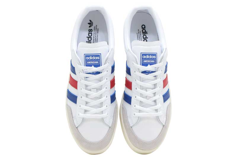 adidas AMERICANA LOWアディダス アメリカーナ ローFTW WHITE COLLEGE ROYAL SCARLETWE29YDHI