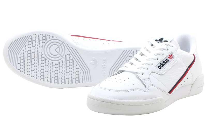adidas Originals CNTNTL80アディダス オリジナルス コンチネンタル80 ラスカルFTW White/Scarlet/Collegiate Navy【メンズ・レディース】