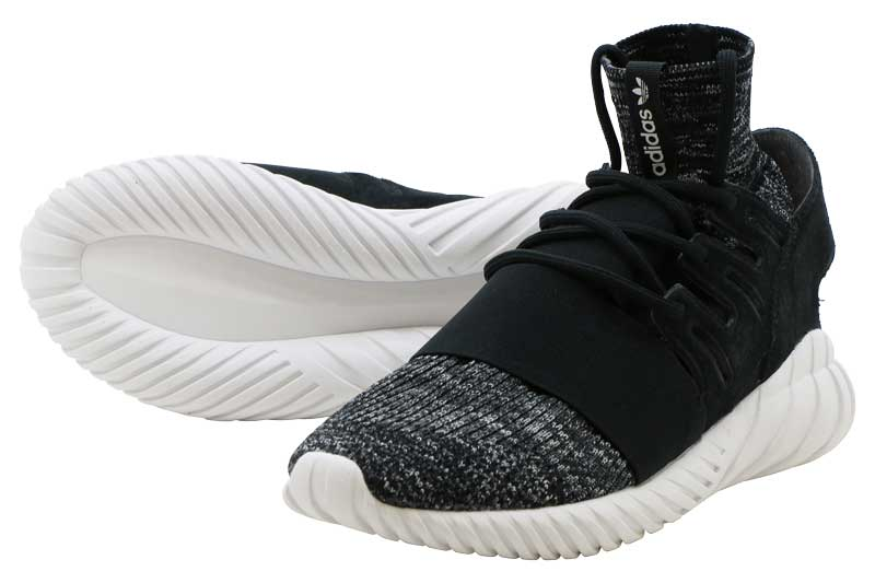 【FINAL SALE ファイナルセール】ADIDAS TUBULAR DOOM PK アディダス チュブラ ドーム PK CORE BLACK/GRANITE/VINTAGE WHITE