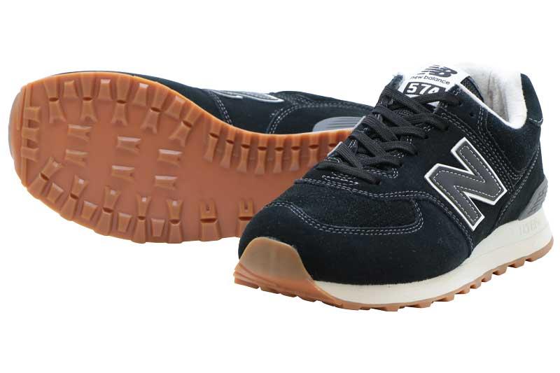 NEWBALANCE ML574 ESEニューバランス ML574 ESEBLACK/ブラック【メンズ・レディース】