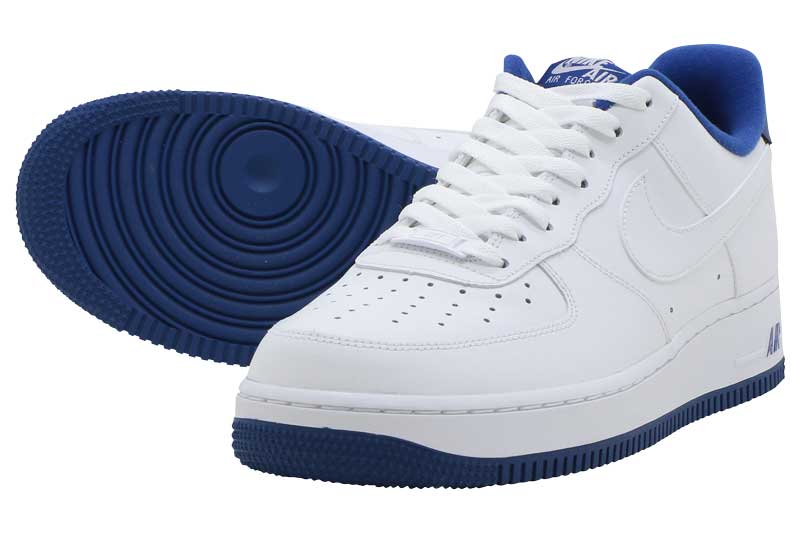 NIKE AIR FORCE 1 '07ナイキ エア フォース 1 '07WHITE/DEEP ROYAL-WHITE