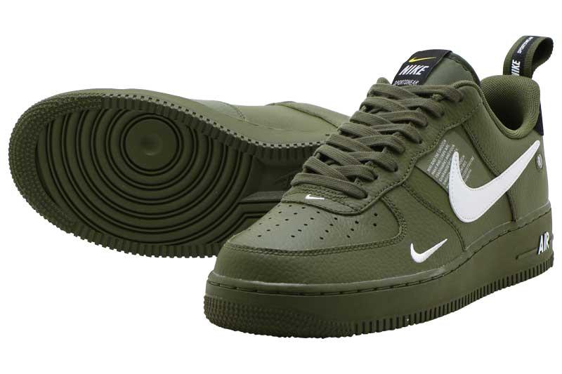 NIKE AIR FORCE 1 07 LV8 UTILITY Nike air force 1 07 LV8 utility OLIVE CANVASWHITE BLACK TOUR YELLOW