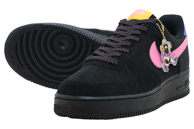 NIKE AIR FORCE 1 '07 LV8 2ナイキ エア フォース 1 '07 LV8 2BLACK/MAGIC FLAMINGO