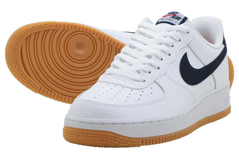 1 07 2WHITE NIKE AIR FORCE 1 07 OBSIDIAN UNIVERSITY RED
