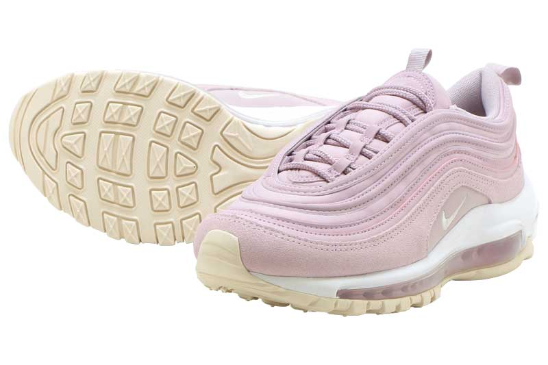NIKE WMNS AIR MAX 97 PRM Nike women Air Max 97 premium PLUM CHALKLIGHT CREAM