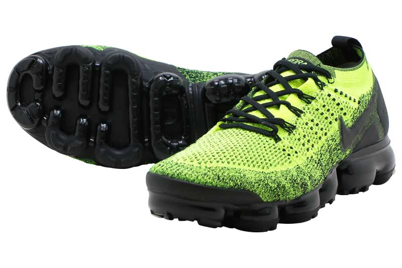 lowest price aab76 385df NIKE AIR VAPORMAX FLYKNIT 2 Nike air vapor max fried food knit 2  VOLT/BLACK-VOLT