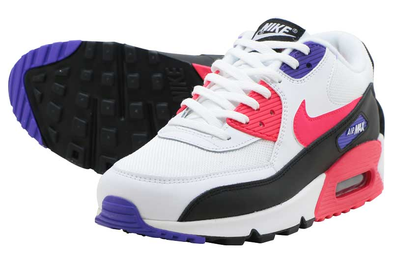 NIKE AIR MAX 90 ESSENTIAL Kie Ney AMAX 90 essential WHITERED ORBIT PSYCHIC PURPLE sold out