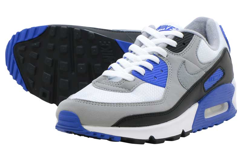 NIKE AIR MAX 90ナイキ エア マックス 90WHITE/PARTICLE GREY-HYPER ROYAL