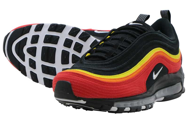 NIKE AIR MAX 97ナイキ エア マックス 97BLACK/WHITE-CHILLI RED-MAGMA ORANGE