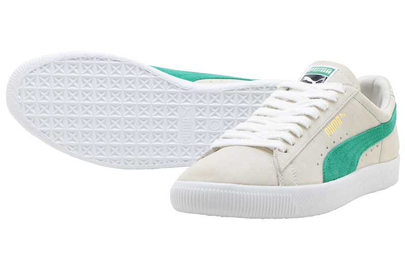 【FINAL SALE】【ファイナルセール】PUMA SUEDE 90681プーマ スエード 90681Whisper White-Green Flash-White