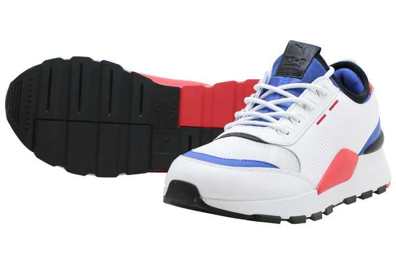 PUMA RS-0 SOUNDプーマ RS-0 サウンドPUMA WHITE-DAZZLING BLUE-RED