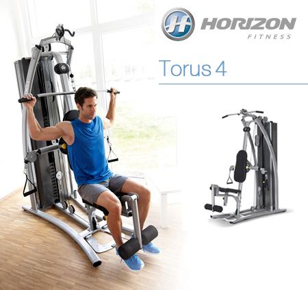 マルチジム TORUS4(トーラス4) 【ホライズンフィットネス】【送料無料】【マルチジム】【ホームジム】【筋力 トレーニング】