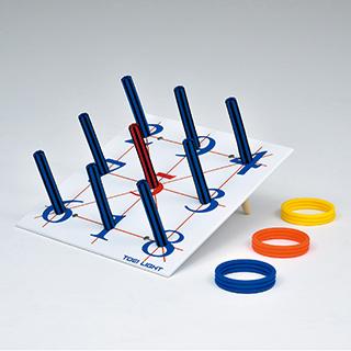 輪投げセット ソフトバー輪投げ600 B-6141 トーエイライト わなげ 玩具 屋内遊具