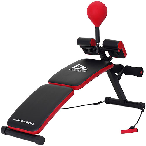 パンチングシットアップベンチ EX140 ダイエット器具 腹筋マシン 腹筋 マシン 折りたたみ 健康器具 腹筋