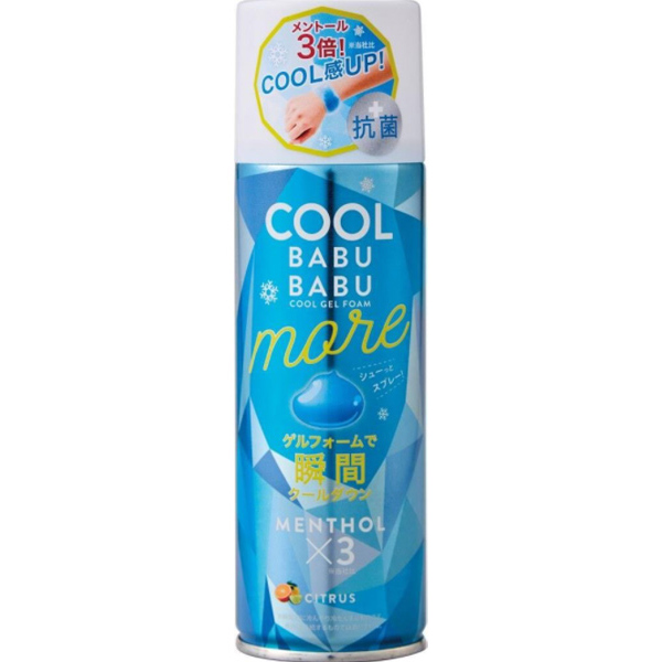 COOL BABUBABU 瞬間冷却ゲルフォーム MORE クールバブバブモア コジット 熱中症対策グッズ 暑さ対策 スポーツ 最新アイテム アウトドア 買物 子ども策 冷却 熱中症対