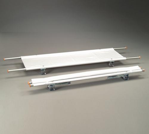 二つ折り担架 取付伸縮型 アルミ OT-6【ナビス】 【送料無料】【担架】