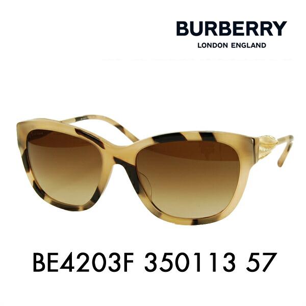 【期間限定50%off】バーバリー サングラス BE4203F 350113 57 BURBERRY