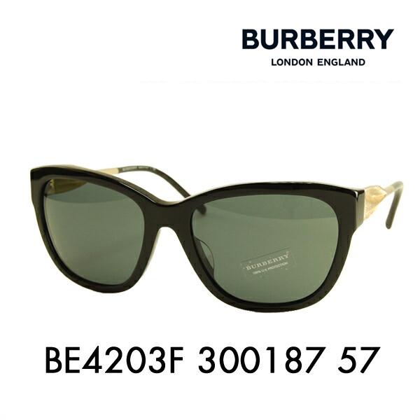 バーバリー サングラス BE4203F 300187 57 BURBERRY
