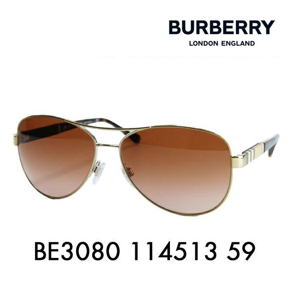 バーバリー サングラス BE3080 114513 59 BURBERRY