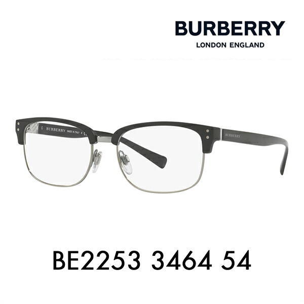 Burberry Date glasses glasses sunglasses BE2253 3464 54 BURBERRY metal