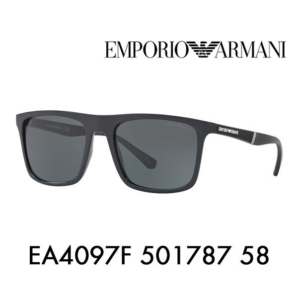 エンポリオアルマーニ サングラス 伊達 メガネ 眼鏡 EA4097F 501787 58 EMPORIO ARMANI フルフィットモデル