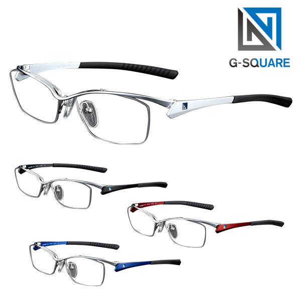 【店内最大pt20倍 ~5/8 9:59】【正規販売店】 G-SQUAREアイウェア度付 ナイロールタイプ 超薄型非球面レンズ(屈折率1.67) ネッツペックレンズ付きフレーム ゲーミンググラス 眼鏡 メガネ
