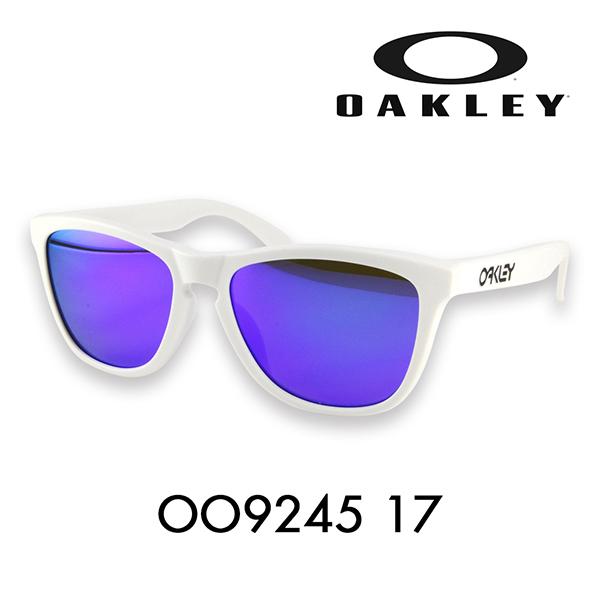 オークリー Clear / ナイロール OAKLEY メンズ ハーフリムMatte トレンド オークレーオークリー キーホールブリッジ OAKLEY LITE レディース Violet Iridium フロッグスキンライト サングラスOO9374-03FROGSKINS