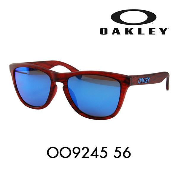 オークリー フロッグスキン サングラス OO9245-56 OAKLEY アジアフィット ウッドグレイン FROGSKINS WOODGRAIN COLLECTION メガネフレーム 伊達メガネ 眼鏡