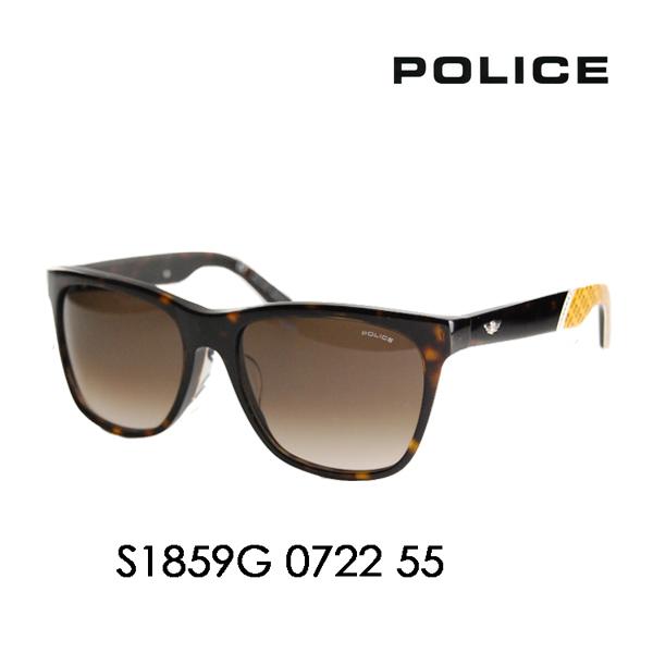 ポリス メガネ サングラス 伊達メガネ 眼鏡 S1859G 0722 55 POLICE