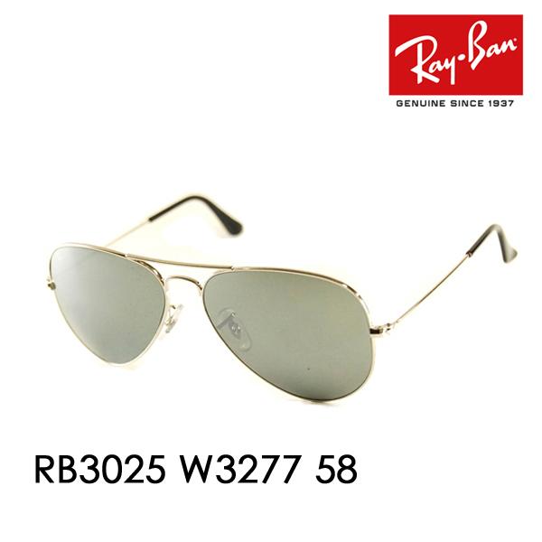 0a2a7d0d4f7b Ray-Ban RayBan ( Ray Ban ) sunglasses Aviator AVIATOR classic metal RB3025  W3277 Ray ...