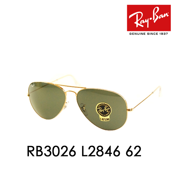 af43c270e6 ... where to buy ray ban ray ban sunglasses rb3026 l2846 62 tm in aviator  large metal