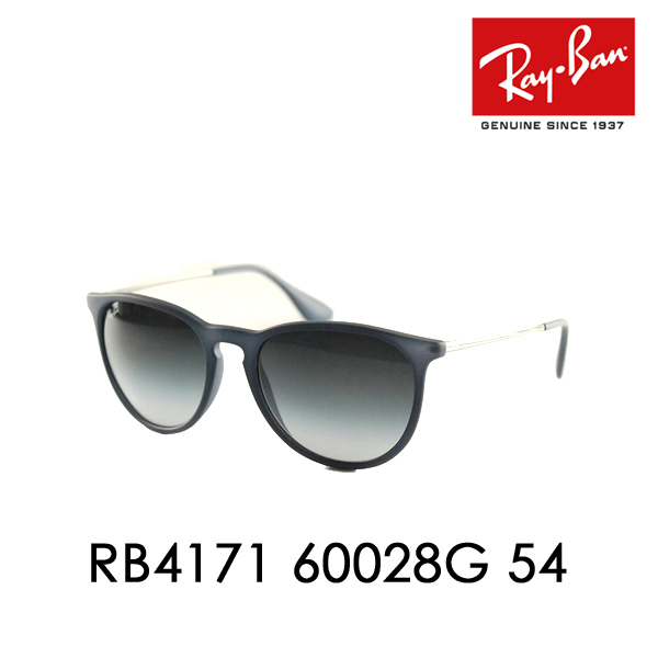 76d7b33f5f7 Ray-Ban ( Ray Ban ) sunglasses RB4171 60028G 54 ERIKA ◇ frame color ◇ RUBBER  BLUE GUNMETAL