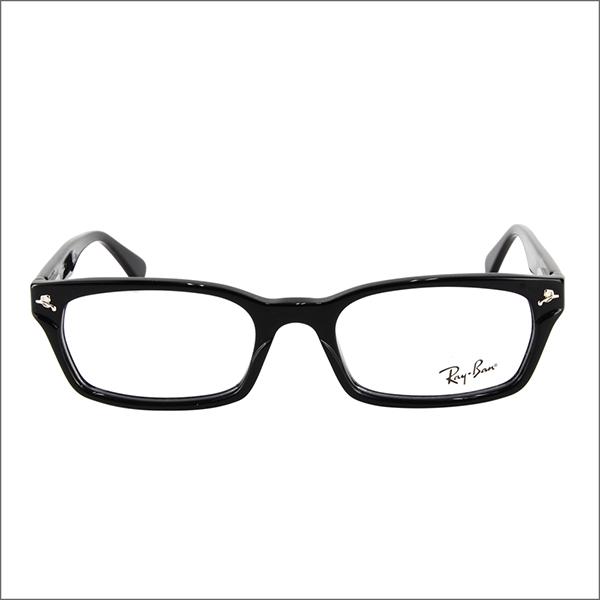 雷朋雷朋) 眼鏡框架龍灰谷堅志惠顧模型 RX5017A2000 52 亞洲擬合模型黑色 rim ITA 眼鏡