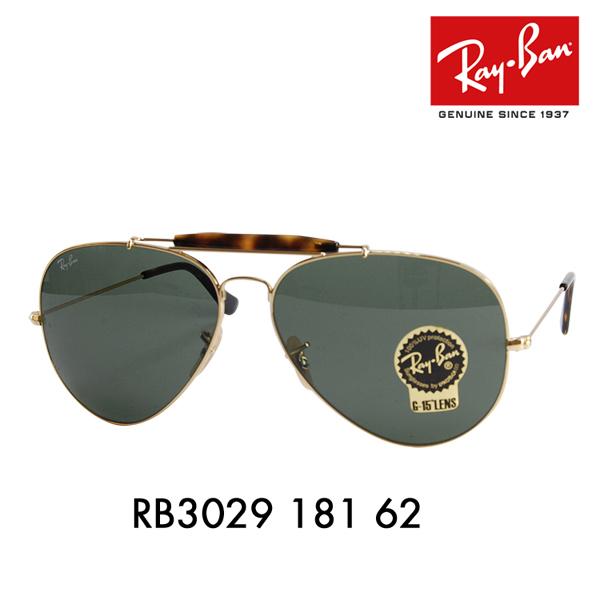レイバン アウトドアーズマン 2 サングラス RB3029 181 62 Ray-Ban OUTDOORSMAN 2