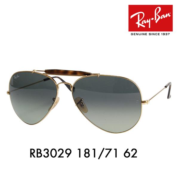 6529f1d61 Ray Ban autodarsman 2 sunglasses RB3029 181 / 71 62 Ray-Ban OUTDOORSMAN 2