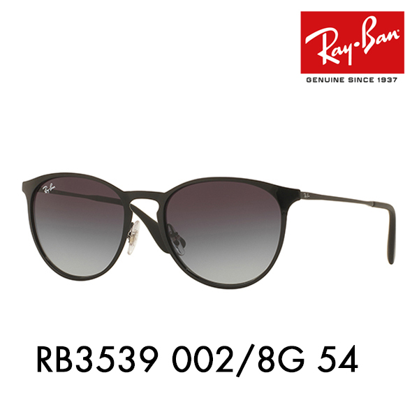 732016c2679 Ray-Ban Erika sunglasses RB3539 002 8G 54 Ray-Ban Date glasses glasses  ERIKA metal wearing image