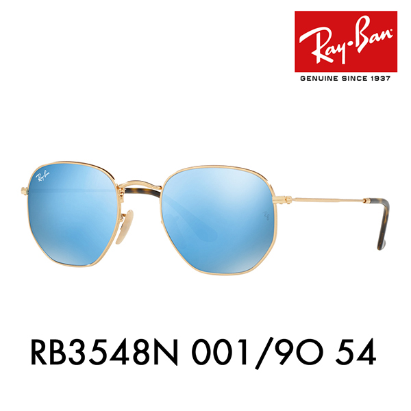 ce120e8c78 Ray-Ban sunglasses RB3548N 001 9O 54 Ray-Ban HEXAGONAL ヘキサゴナル FLATLENS flat  lens round