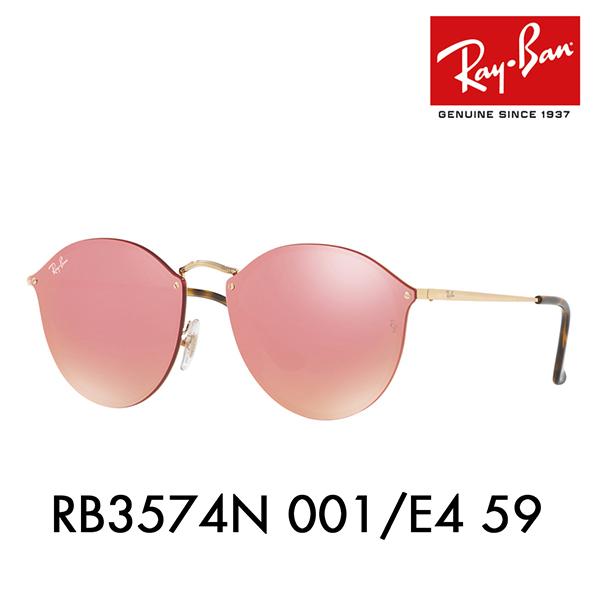45b93dcb56bc4 Ray-Ban sunglasses blaze round RB3574N 001 E4 59 Ray-Ban BLAZE ROUND flat  lens mirror Date glasses glasses