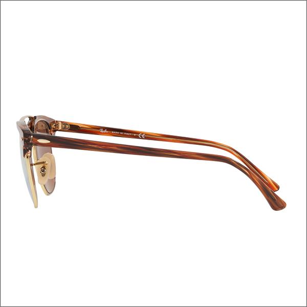 期間限定50 off レイバン サングラス RB3816 1237I1 51 Ray Ban クラブマスター ダブルブリッジ アイコン ミラー CLUBMASTER ICONS 伊達メガネ 眼鏡jS3RqAL4c5