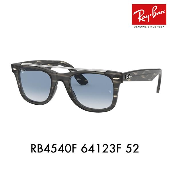 【店内最大ポイント20倍 ~9/3 9:59】レイバン サングラス RB4540F 64123F 52 Ray-Ban ウェイファーラー ICONS WAYFARER FAMILY フルフィット 伊達メガネ 眼鏡